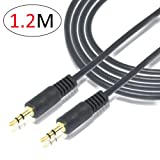 4 Feet 3.5mm Male To 3.5mm Male Stereo Audio Aux Cable