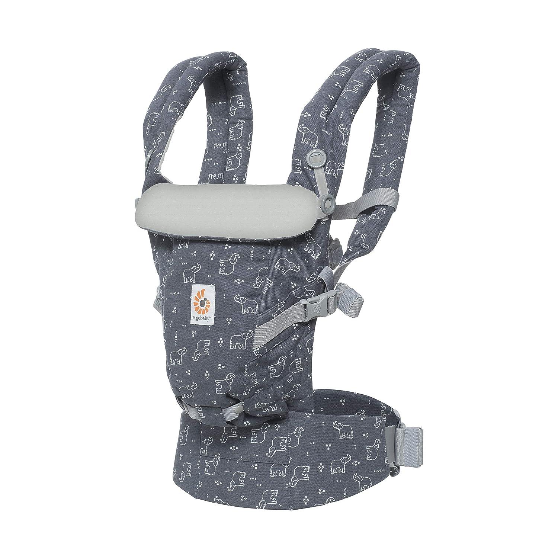 Ergobaby Babytrage f/ür Neugeborene ab Geburt Adapt 3-Positionen Babybauchtrage R/ückentrage Pink Digi Camo Cool Air Mesh