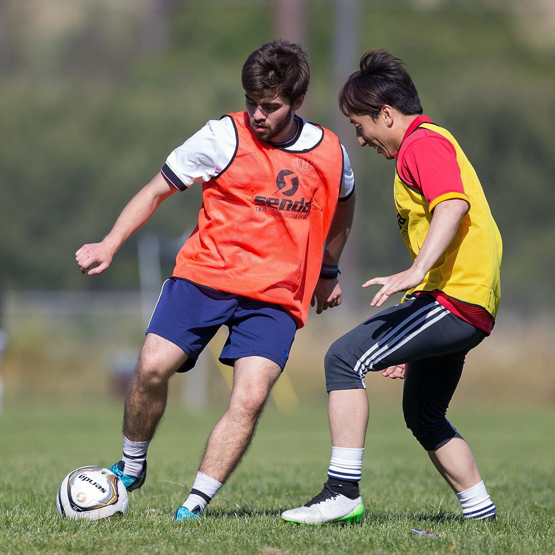 Size 5 Senda Volta Premier Soccer Ball Ages 13 /& Up Fair Trade Certified Gold//Grey