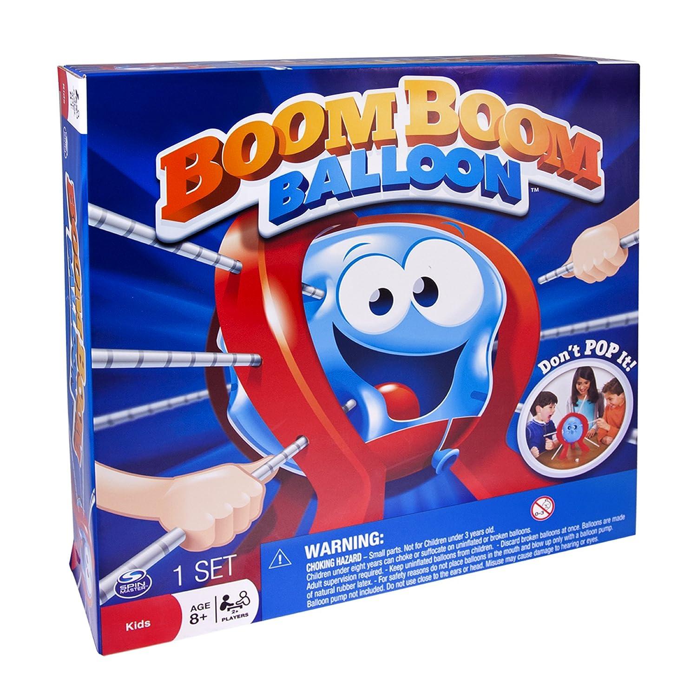 amazon com spin master games boom boom balloon board game toys