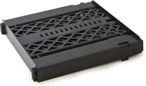 LockerMate Adjust-A-Shelf Locker Shelf, Easy to Use, Extends to Fit Your Locker, Black