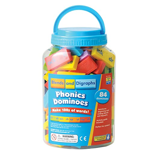 Amazon.com: Educational Insights Phonics Dominoes - Blends ...
