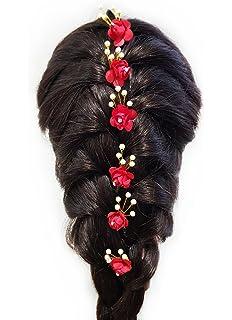 Buy Rapidsflow Bridal Hair Bun Decoration Juda Pins For Women Gold