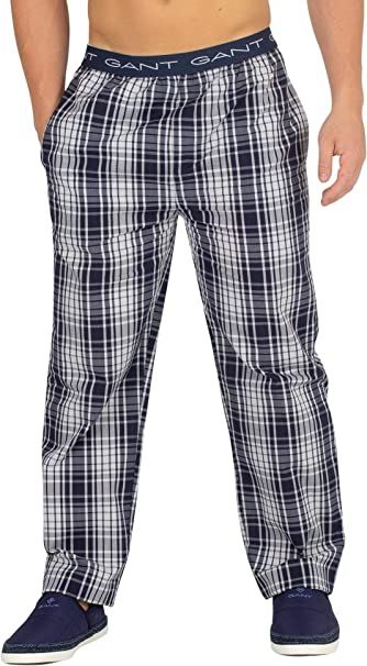Gant Pajama Pants Check Woven Pantalones de Pijama para Hombre