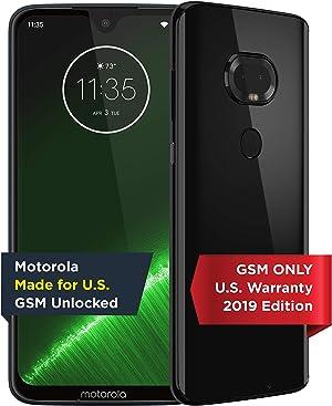 Moto G7 Plus | Unlocked | Made for US by Motorola | 4/64GB | 16MP Camera | 2019 | Black