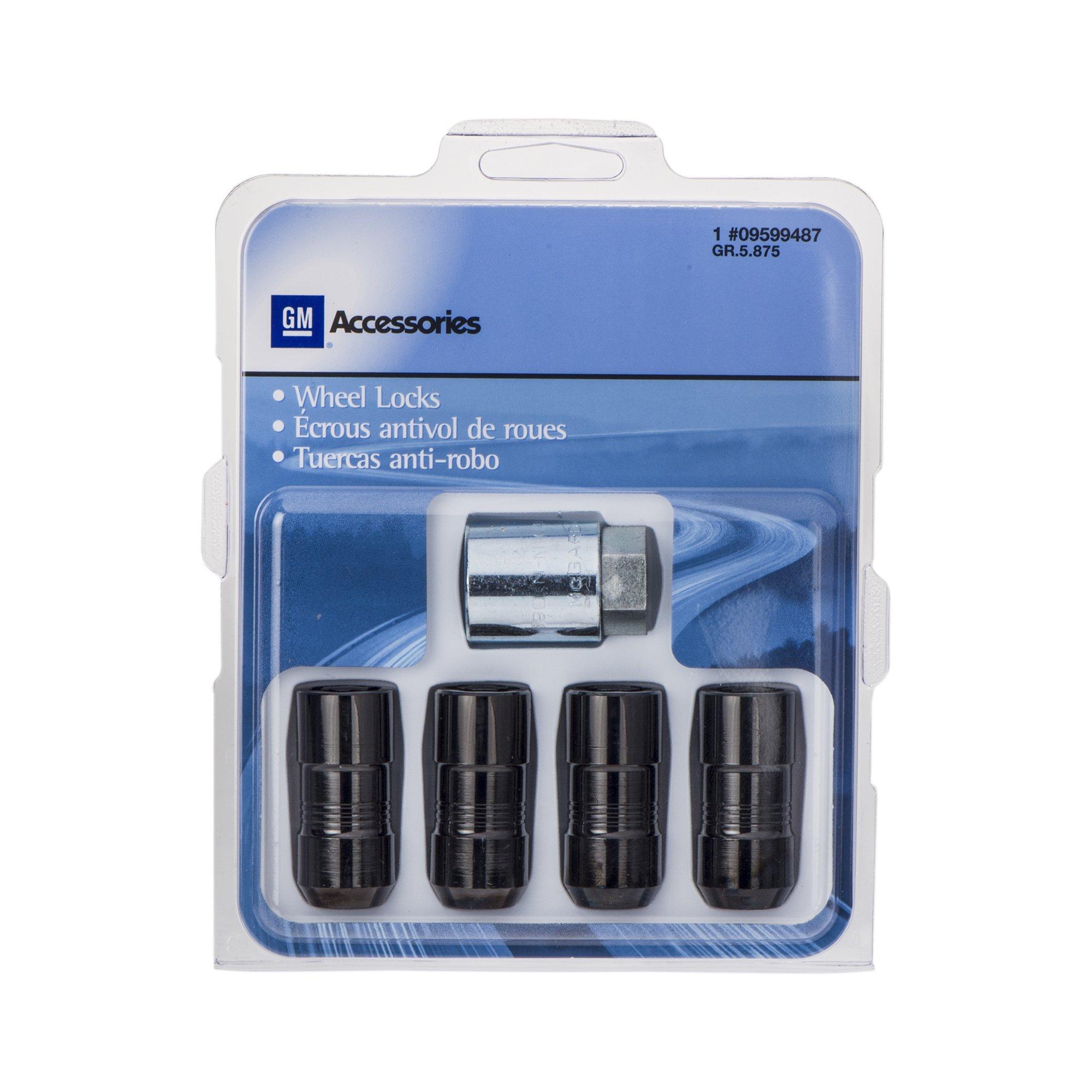 OEM NEW Wheel Lug Nut Locks Package 20 Count 17-18 Silverado Sierra 84332438