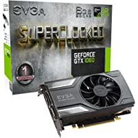 EVGA GeForce GTX 1060 SC 6GB GDDR5 Graphics Card + Power Supply