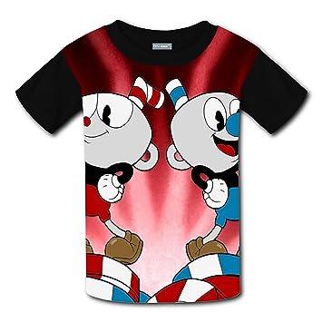 eeb84aa3 RVDSR Cuphead Youtube Game Kids Girl Boy Custom Funny T-shirts: Amazon.ca:  Sports & Outdoors