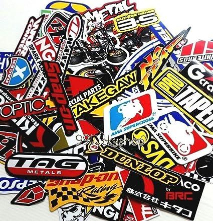 200 Mixed Random Stickers Motocross Motorcycle Car ATV Racing Bike Helmet Decal