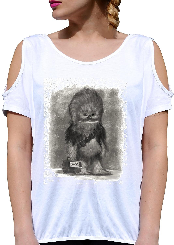 JODE T Shirt Girl GGG27 Z2819 Chewbacca School Weapon Cinema Vintage Funny  Fashion Cool: Amazon.de: Bekleidung