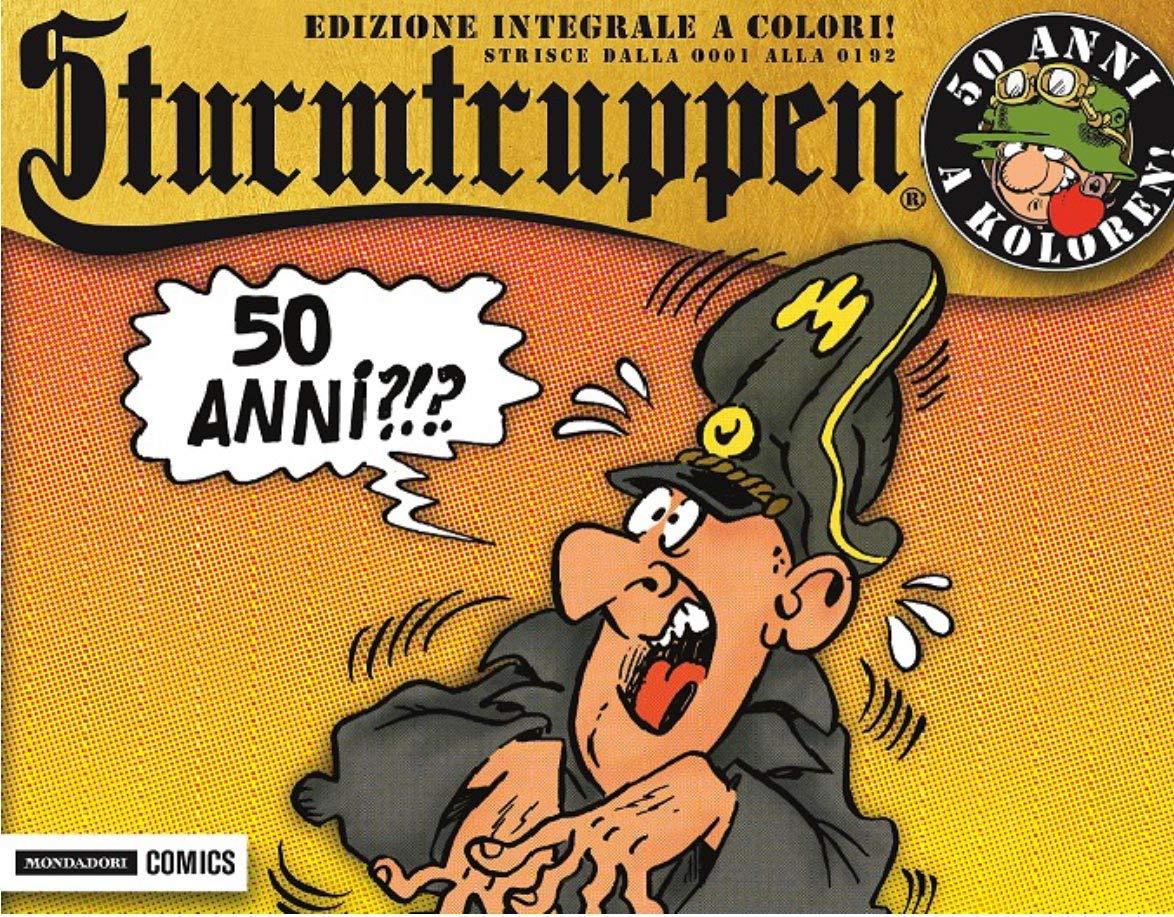 50 anni a koloren! Sturmtruppen. Ediz. integrale: 1 Copertina flessibile – 25 ott 2018 Bonvi Mondadori Comics 8869265366 DISEGNO