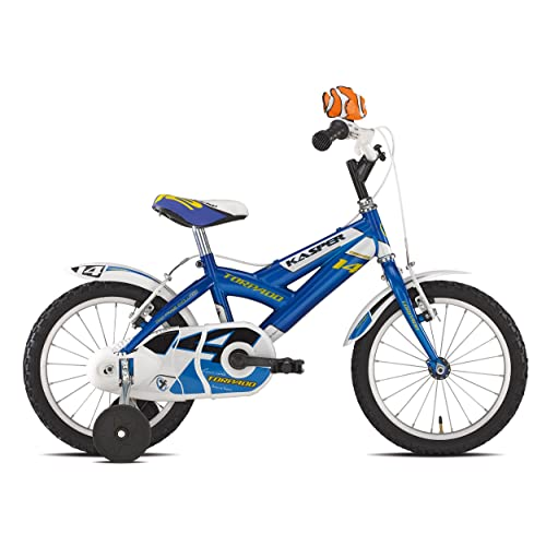 "'Torpado vélo Junior Kasper 14""Bimbo 1V Bleu (enfant)/Bicycle Junior Kasper 14Boy 1V Blue (Kid)"
