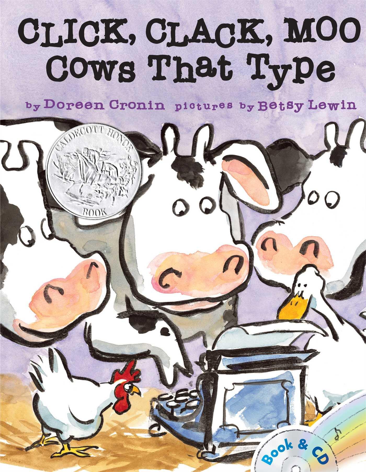 click clack moo cows that type a click clack book doreen