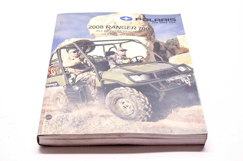 Polaris 2011-2012 Ranger 800 Xp Hd Crew 6X6 Service Shop Manual 9923499 New Oem