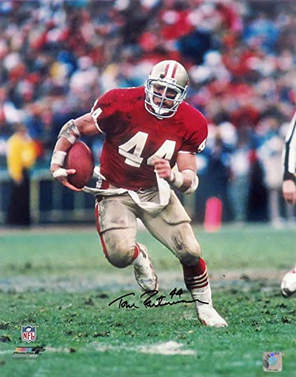 a230d27af1c SF 49ers Tom Rathman Autographed 16x20 unframed (COA) at Amazon's ...