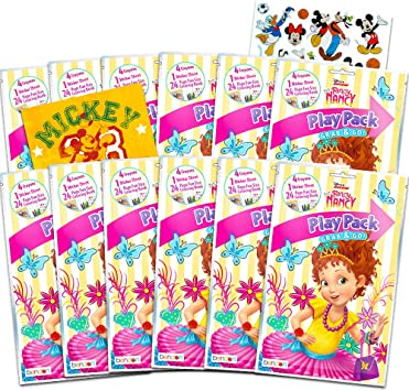 Amazon.com: Disney Fancy Nancy Party Favors Pack ~ Pack de ...