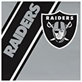 NFL Oakland Raiders Disposable Paper Napkins, Pack