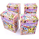 Set of 4 Blind Box Unicorno Series 5 Tokidoki Vinyl Mini Figures