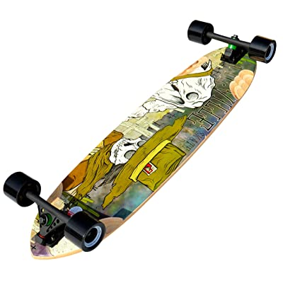 "Deville Longboards DEVILLE Tombstone 37"" Downhill/Freeride Longboard : Sports & Outdoors"