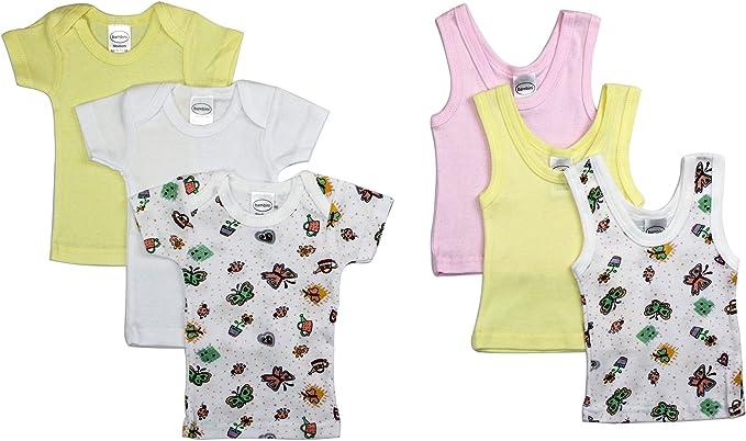 Bambini Girls 6 Piece Layette Set