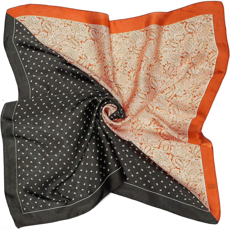 Joinfun Foulard Bandana Sciarpa Patchwork Satin Fazzoletto Fazzoletto Quadrato Sciarpa di seta Sciarpa da donna Sciarpa da uomo 70 70 cm