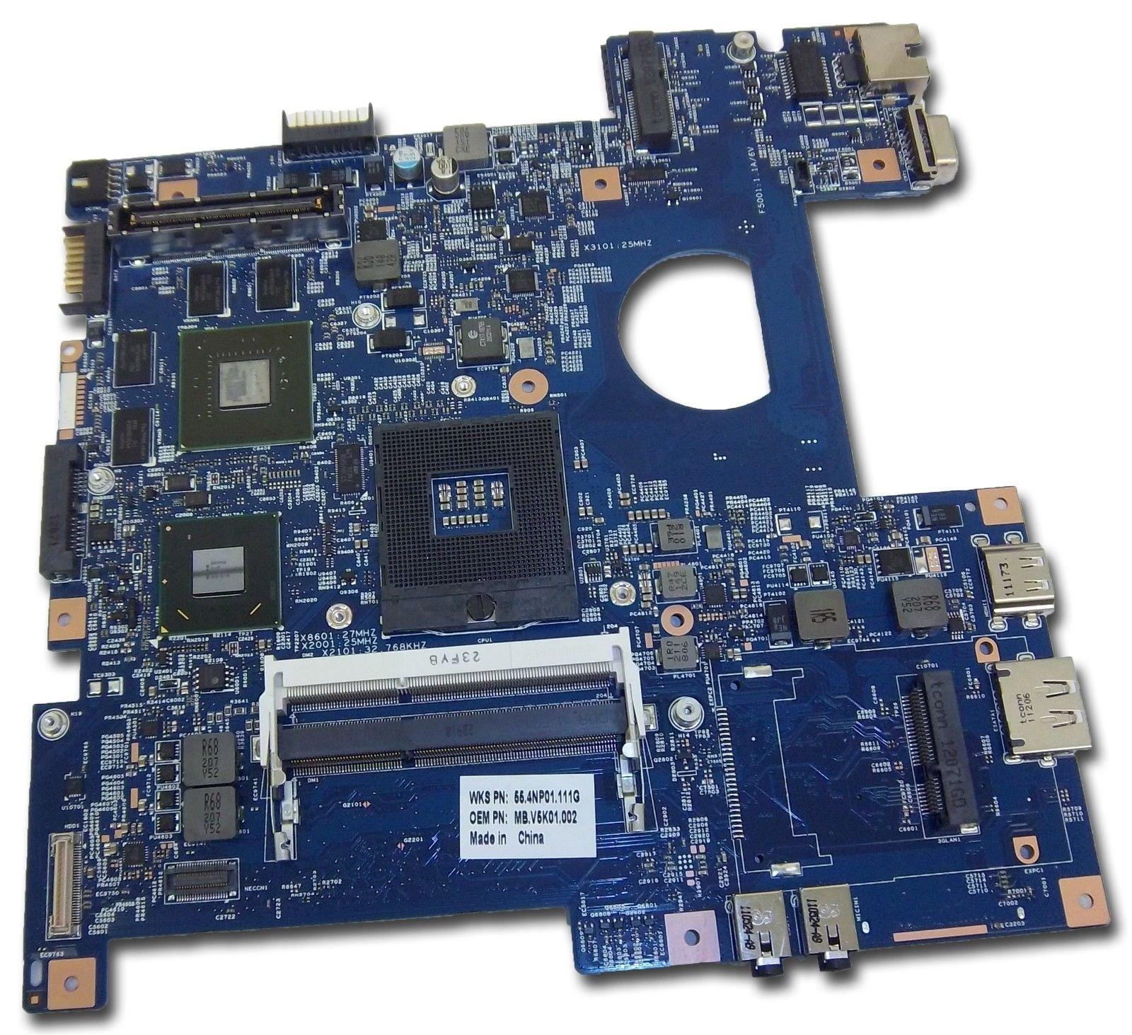Acer TravelMate 8473T 8473TG Notebook Motherboard MB.V5K01.002 MBV5K01002
