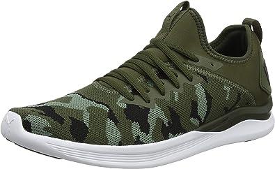 Puma Ignite Flash Camo, Zapatillas de Running para Hombre, Verde (Forest Night-Laurel Wreath Black 01), 48.5 EU: Amazon.es: Zapatos y complementos
