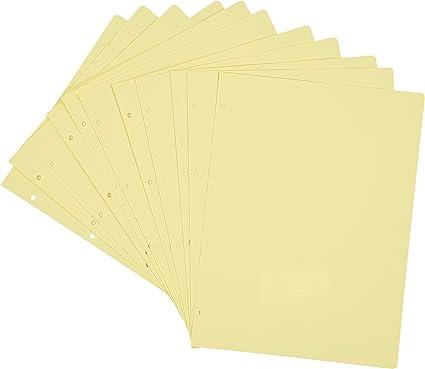 Pardo 127508 - Pack 10 cartulinas separadoras de colección variada: Amazon.es: Oficina y papelería