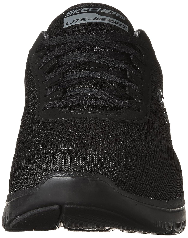Flex Advantage 2.0-The Happs, Chaussures Multisport Outdoor Homme, Noir (Black), 45 EUSkechers