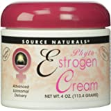 Source Naturals Phyto-Estrogen Cream, Advanced Liposomal Delivery, 4 Ounces