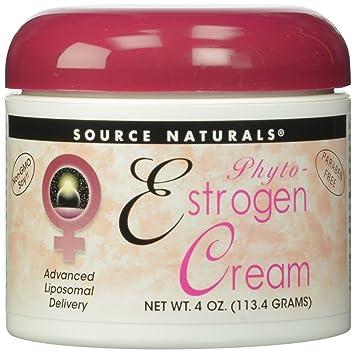 Cream estrogen facial