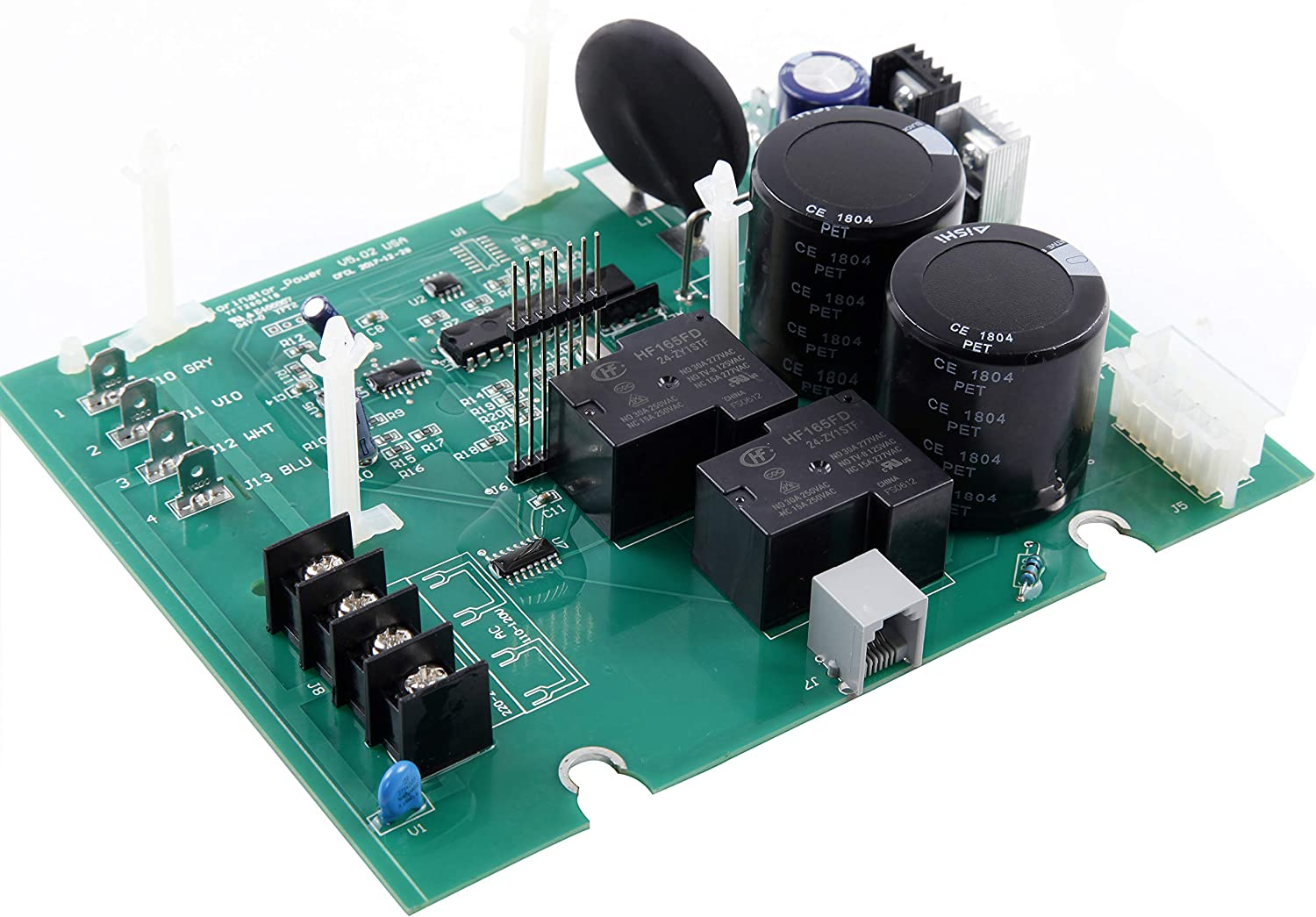 BLUE WORKS PCB Main Circuit Board Compatible with Hayward Goldline GLX-PCB-Main System Board