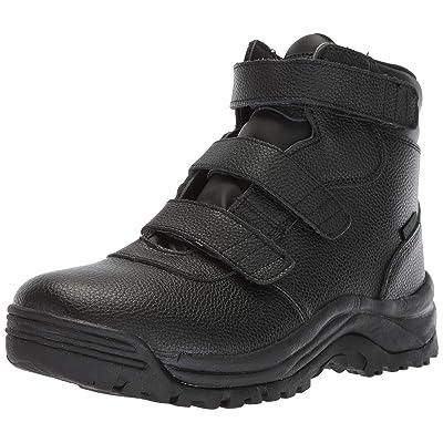 Propet Men's Cliff Walker Tall Strap Hiking Boot, Black, 13 5E US | Hiking Boots
