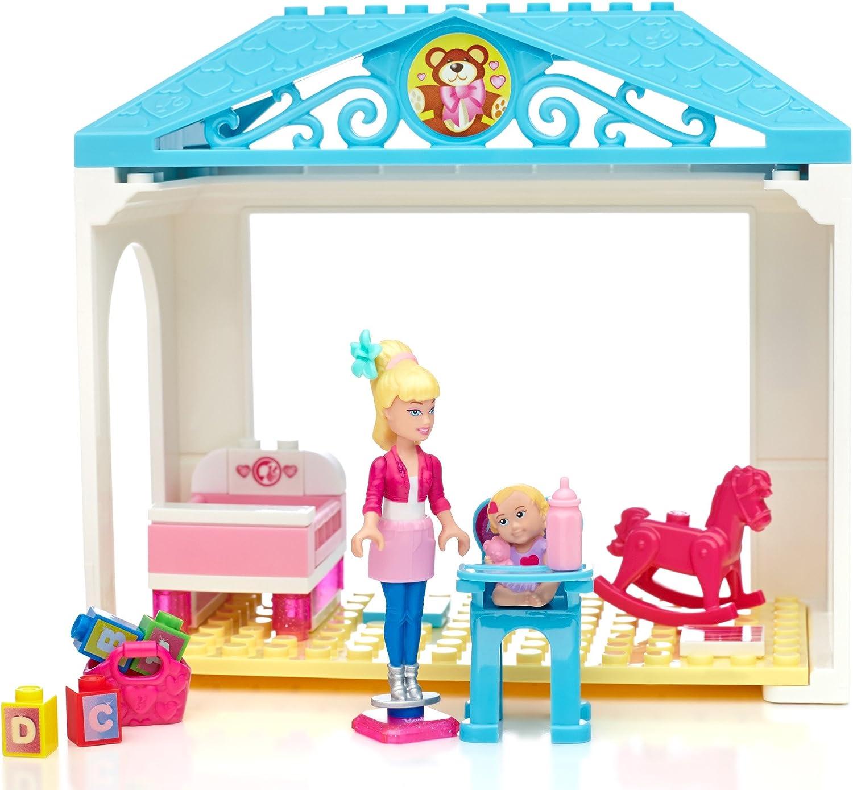 Mega Bloks Barbie Babysitter Barbie Building Kit