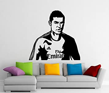 Cristiano ronaldo wall decal real madrid football vinyl sticker wall cristiano ronaldo wall decal real madrid football vinyl sticker wall decor removable waterproof decal 413n voltagebd Choice Image
