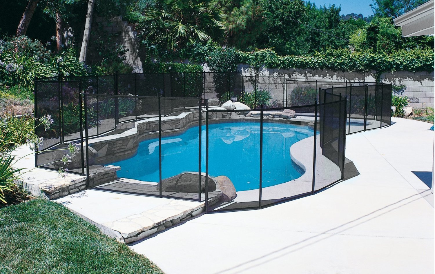 Amazon.com : Pool Safety Fence GLI 5 ft. X 10 ft. 30-0510 ...