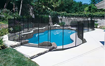 Amazon.com : Pool Safety Fence GLI 5 ft. X 10 ft. 30-0510-BLK ...