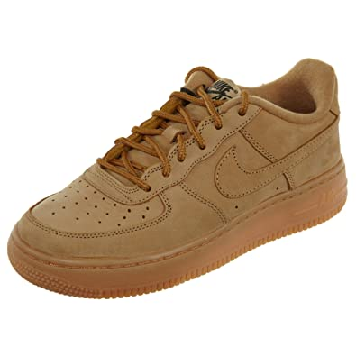 uk store release date: coupon codes NIKE Youth Air Force 1 Winter Premium GS Nubuck Trainers