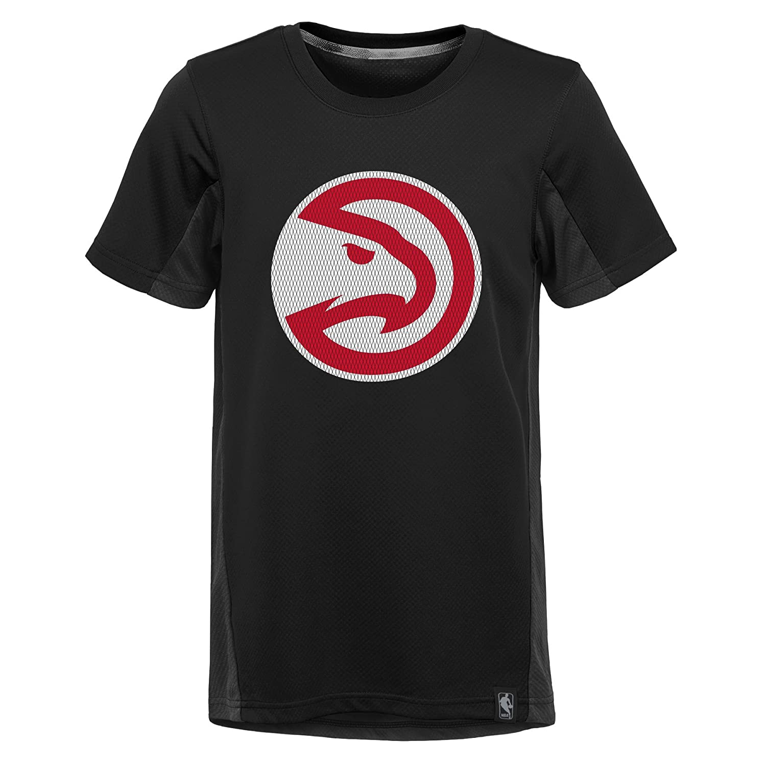 NBA Kids /& Youth Boys Assist Short Sleeve Shooter Tee Atlanta Hawks-Black-S 8