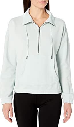 Calvin Klein Performance Women's Drop Shoulder Half Zip Pullover