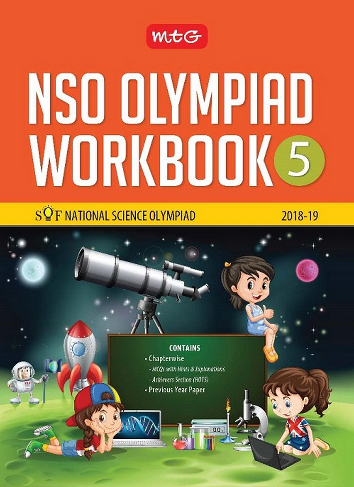 Buy National Science Olympiad Workbook (NSO) - Class 5 Book Online