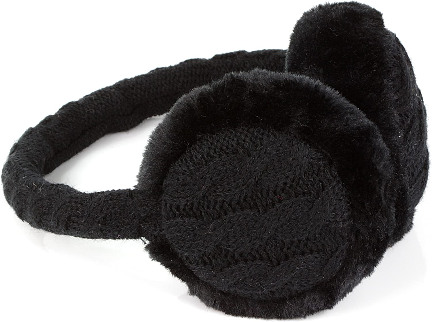 Singapore Greeting Building Winter Earmuffs Ear Warmers Faux Fur Foldable Plush Outdoor Gift
