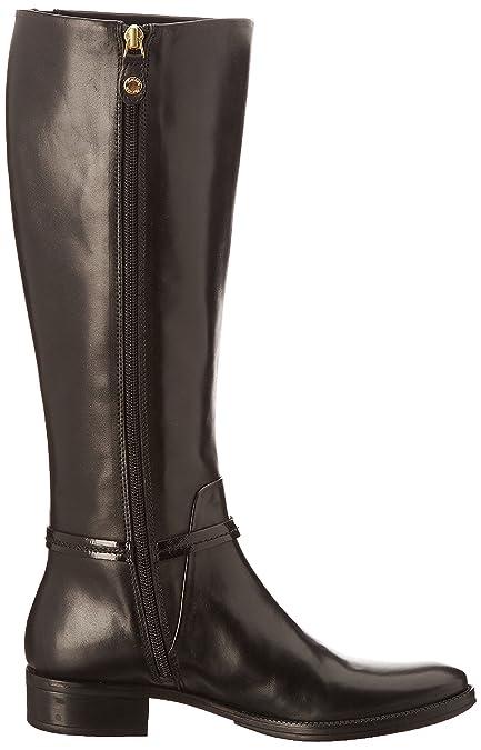 Geox D Mendi St B - Botas Mujer, Negro - Noir (Noir/V Li/Ver Sin St), 39.5: Amazon.es: Zapatos y complementos