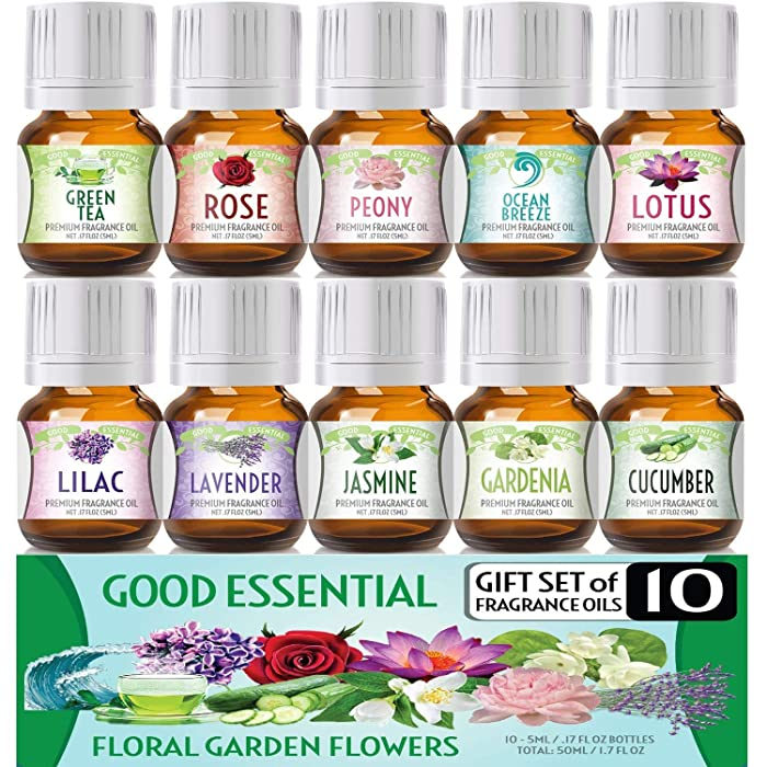 The Best Flower Garden Essential Oils For Diffuser
