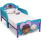 Delta Children 3D-Footboard Toddler Bed, Disney Junior Doc McStuffins