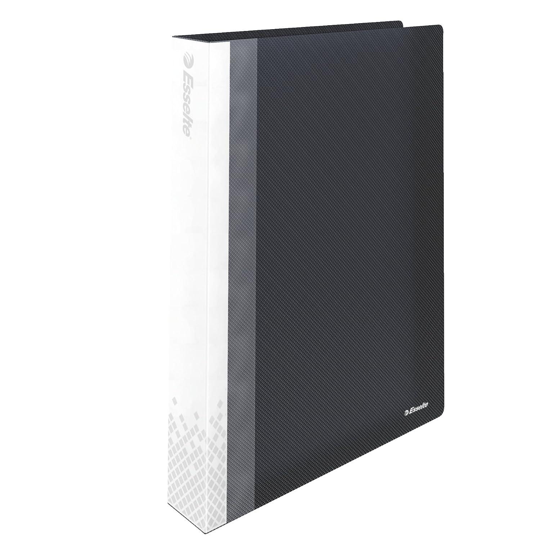 Leitz 623988 - Raccoglitore per presentazione Vivida, in polipropilene, rilegatura robusta, formato DIN A4, 40 buste, nero