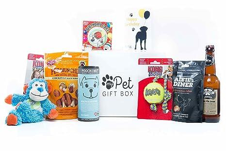 The Birthday Boy Treats & Toys Caja de regalo para perros ...