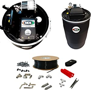 Mosquito Misting System, 55 Gallon Automated System, Do it Yourself 30 Nozzle Kit, w/Remote Control, No Assembly Req