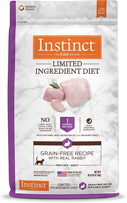The Best Instinct Limited Cat Food Dry Turkey