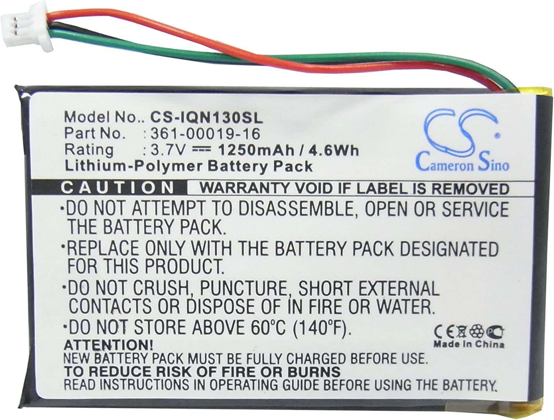 Batería GPS para Garmin 361-00019-12 361-00019-16.compatible con Garmin Nuvi 1300 Nuvi 1350 Nuvi 1350T Nuvi 1370 Nuvi 1370T Nuvi 1390 Nuvi 1390T Nuvi 1340T Pro Nuvi 1375T Nuvi 1490.Navigator